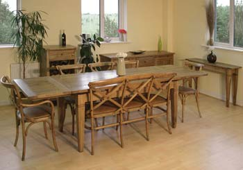 Oakgrove Large Extending Dining Room Set