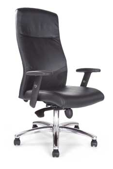 Furniture123 Professor Leather Office Chair