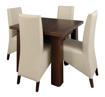 Radley Butterfly Extending Dining Set With Cream