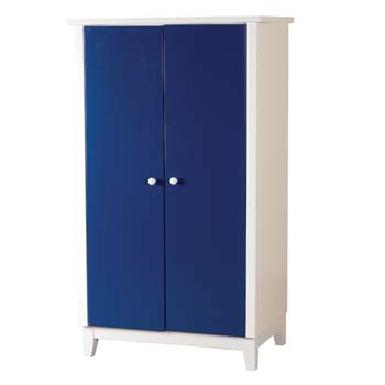 Furniture123 robin kids 2 door wardrobe in blue review for Furniture 123 wardrobes
