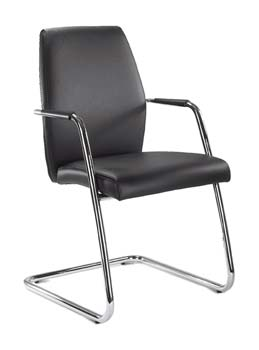 Furniture123 Sentry 601 Leather Faced Managers Chair