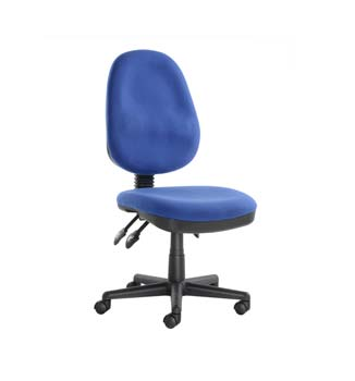 Furniture123 System Blue Fabric Office Chair