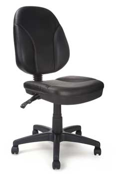 Furniture123 Task Operator 22F Leather Office Chair