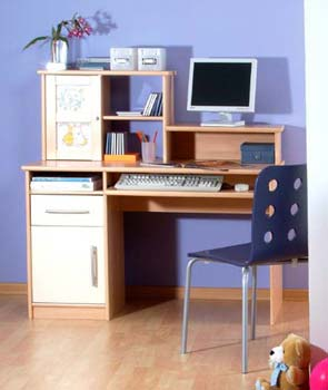 Thuka Zoom 7/8 - Desk with Stacker Unit
