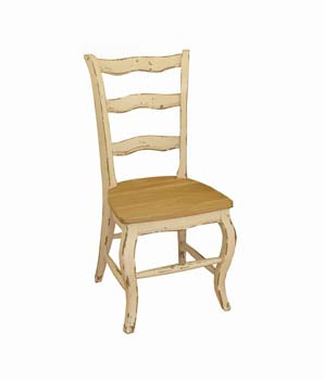 Furniture123 Touraine White and Oak Office Chair