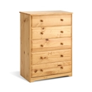 Balmoral Pine 5 Drawer Chest