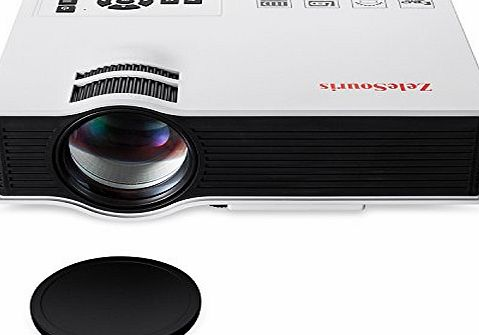 800 Lumens Multi-media TFT LCD Mini Projector Portable LED Pocket Projector with HDMI / VGA / USB / SD / AV Interface for For Game Consoles , TV , DVD , PC Laptop , Media Player , Home Cinema , Entert
