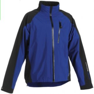 ATLAS FULL ZIP GORTEX WATERPROOF JACKET Aluminium/Black / X-Large