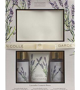 The Garden Collection Lavender Cosmetic Purse