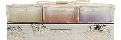 The Garden Collection Mini Trio of Candles