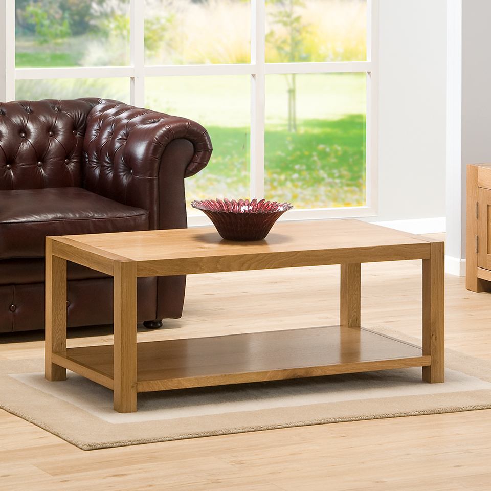 Chepstow Oak Large Coffee Table