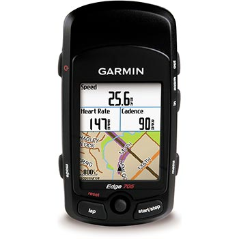 Garmin Edge 705 With Heart Rate Monitor w/ Free