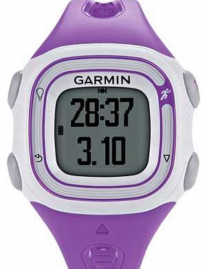Garmin Forerunner 10 GPS Running Watch - Pink/White
