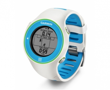 Garmin Forerunner 610 Watch (White) with Heart