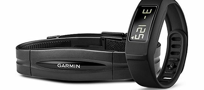 Garmin Vivofit 2 Wireless Fitness Wrist Band and Activity Tracker with Heart Rate Monitor - Black