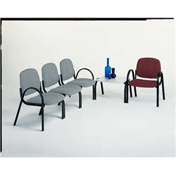 Garnet Futura Reception Range Arm Chair.