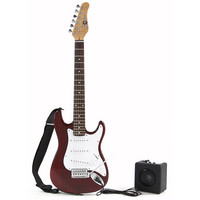 3/4 Electric-ST Guitar +Miniamp Red