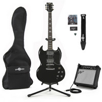 Brooklyn Electric Guitar + Complete Pack Black