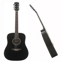 Dreadnought Acoustic Guitar Black