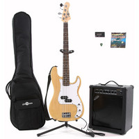 Electric G-4 Bass + 35W Amp Pack Natural