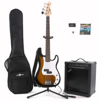 Electric G-4 Bass +35W Amp Pack Sunburst