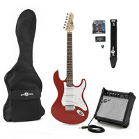 Electric-ST Guitar + Amp Pack Red