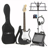 Electric-ST Guitar Black Christmas Pack