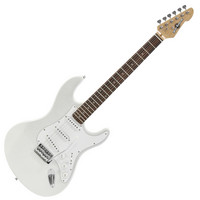 Electric-ST Guitar by Gear4music SILVER
