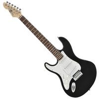Electric-ST guitar in Black Left handed