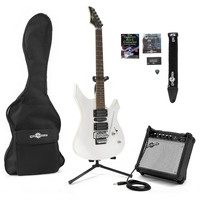 Indianapolis Electric Guitar + Complete Pack White