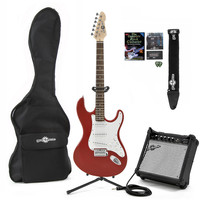 LA Electric Guitar + Complete Pack Red