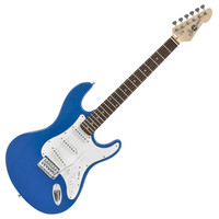 LA Electric Guitar by Gear4music Blue