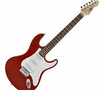 LA Electric Guitar by Gear4music Red - Ex Demo