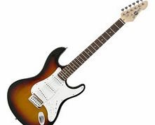 LA Electric Guitar by Gear4music Sunburst - Ex