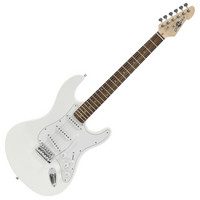 LA Electric Guitar by Gear4music White