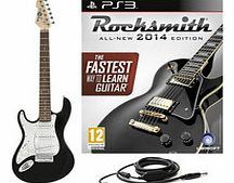 Rocksmith 2014 PS3 + 3/4 LA Left Handed Electric