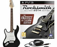 Rocksmith 2014 PS3 + LA Left Handed Electric