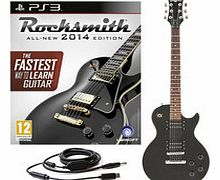 Rocksmith 2014 PS3 + New Jersey II Electric Black