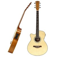 Single Cutaway Electro Acoustic Guitar L/H