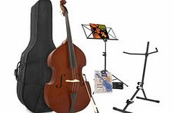 Student 3/4 Double Bass + Accessory Pack by