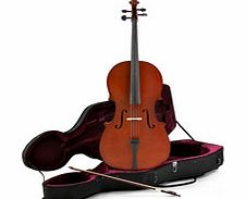 Student 3/4 Size Cello with Case by Gear4music -