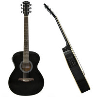 Student Electro Acoustic Guitar Black