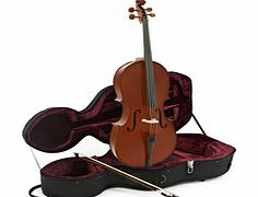 Student Plus 1/4 Size Cello with Case by