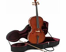 Student Plus 4/4 Size Cello with Case by