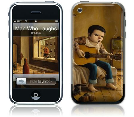 Gelaskins iPhone 1st Gen GelaSkin The Man Who Laughs by