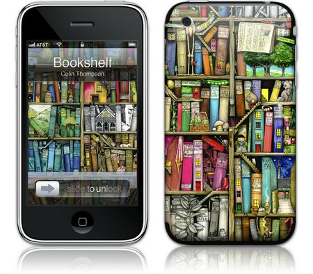Gelaskins iPhone 3G 2nd Gen GelaSkin Bookshelf by Colin
