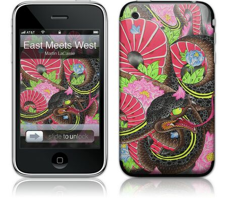 Gelaskins iPhone 3G 2nd Gen GelaSkin East Meets West by