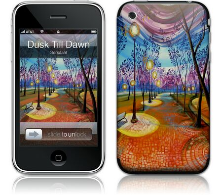 Gelaskins iPhone 3G 2nd Gen GelaSkin From Dusk Till Dawn