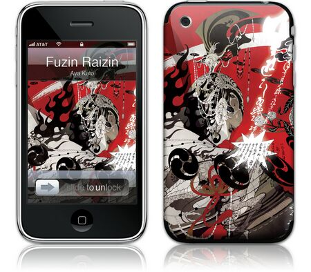 Gelaskins iPhone 3G 2nd Gen GelaSkin Fuzin Raizin by Aya
