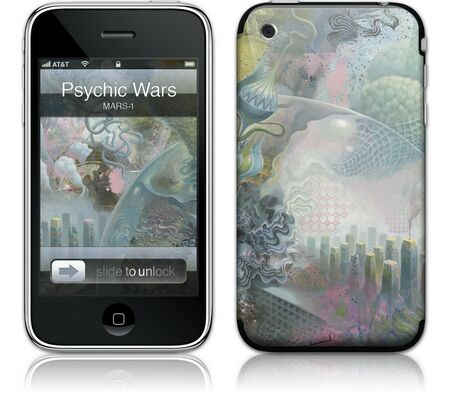 Gelaskins iPhone 3G 2nd Gen GelaSkin Psychic Wars by MARS-1